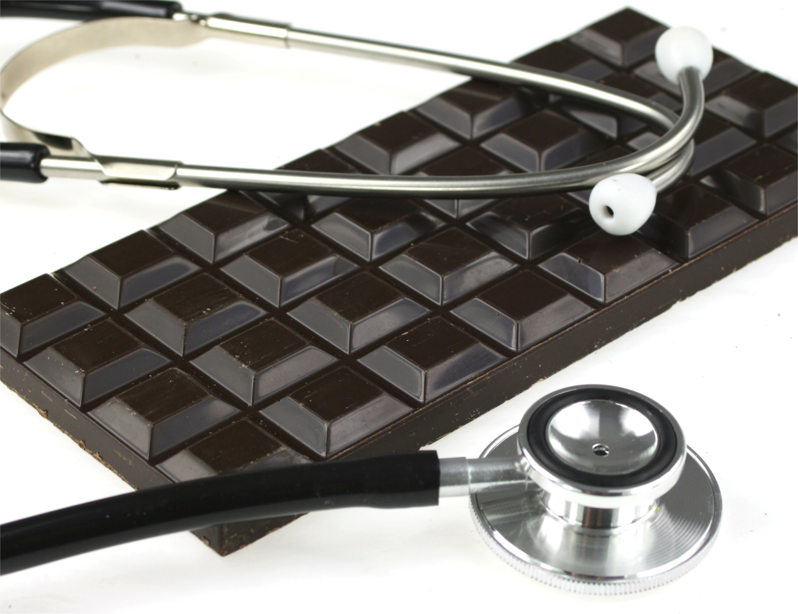 Chocolate Bar and Stethoscope
