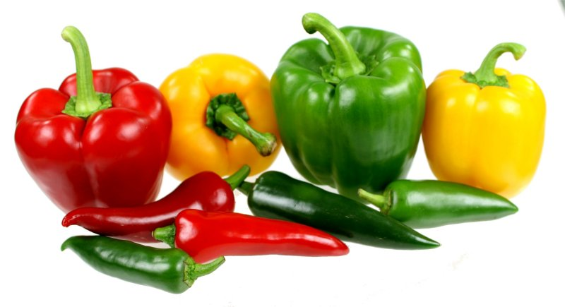Bell peppers and chillies