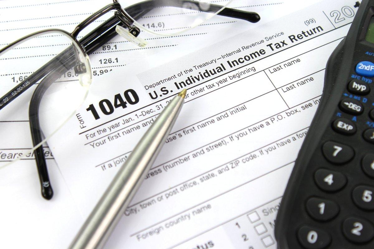 Individual income tax return