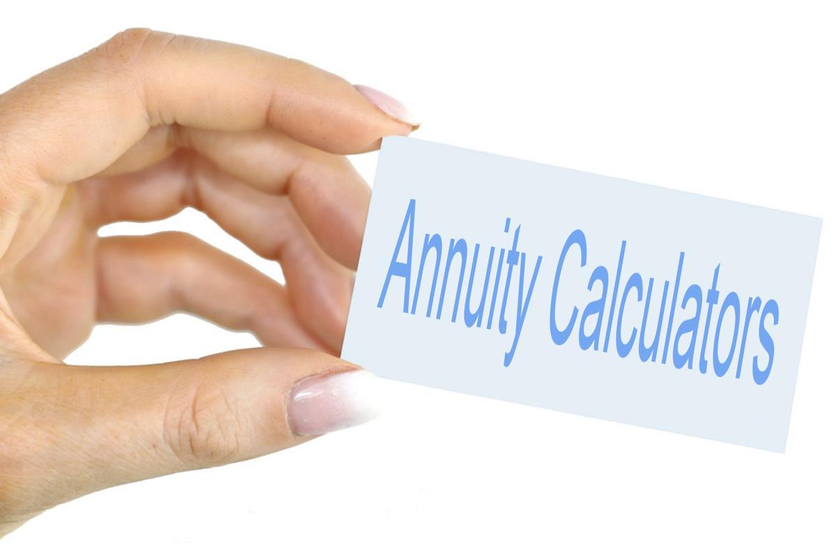 Annuity calculators