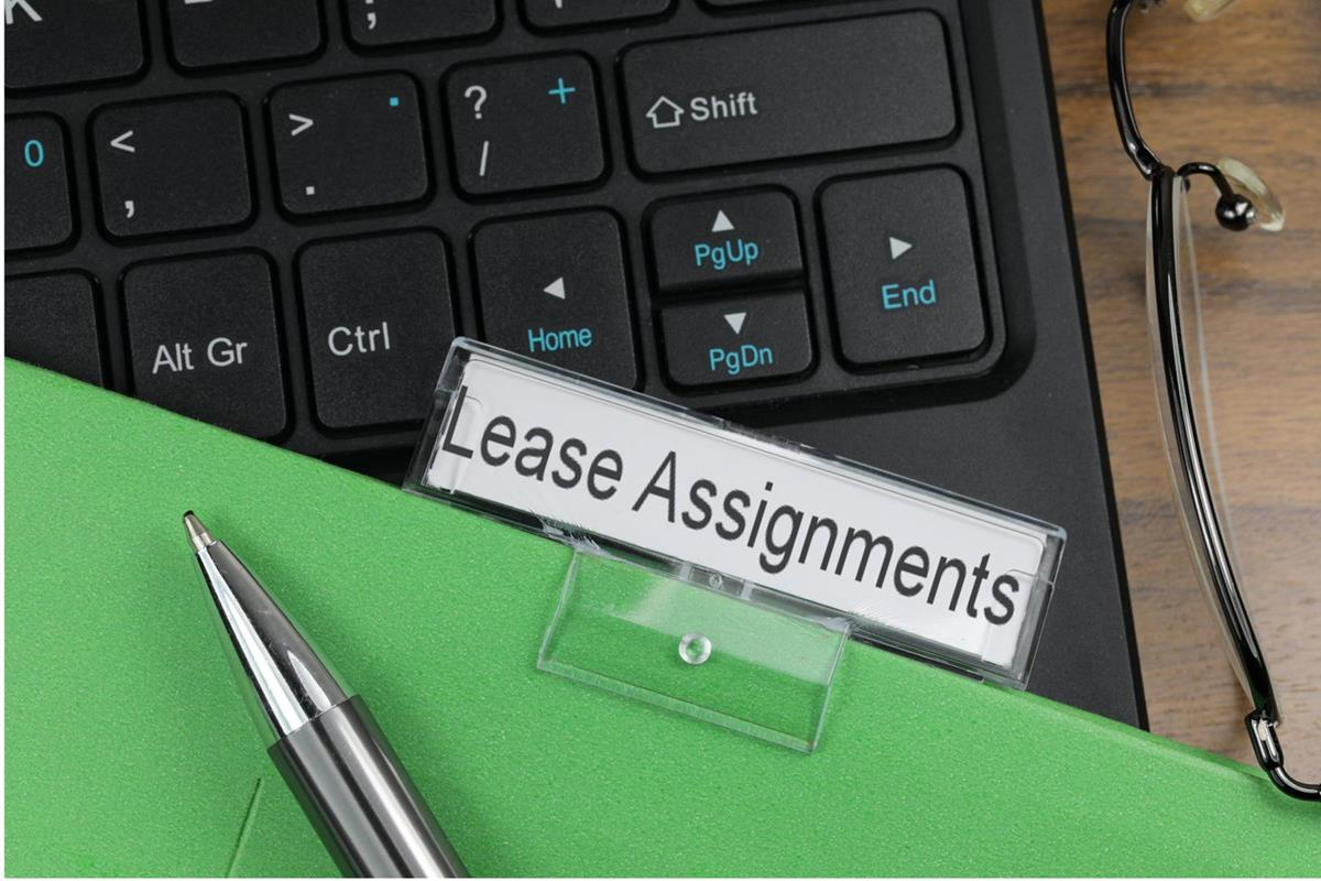 Lease assignments