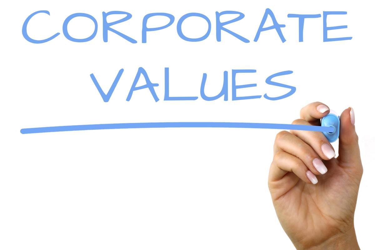 Corporate values1