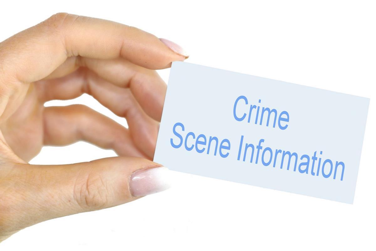 Crime scene information