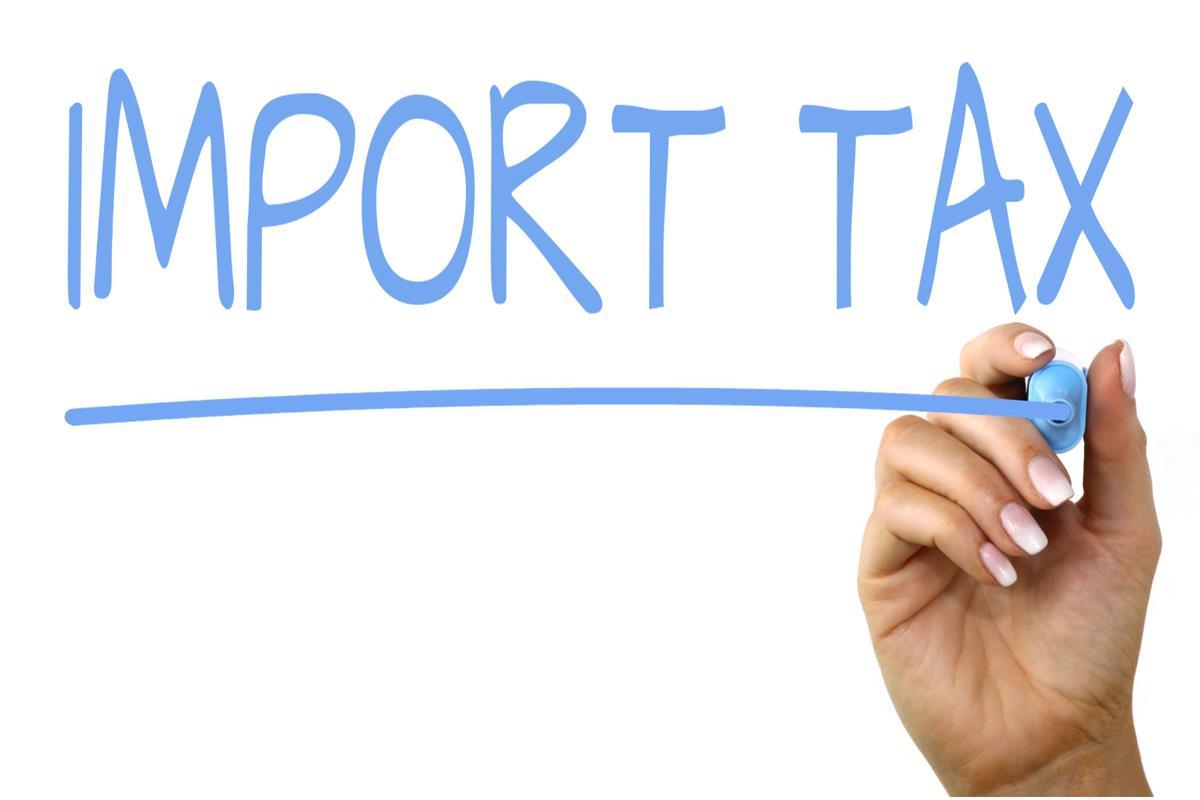 Import tax