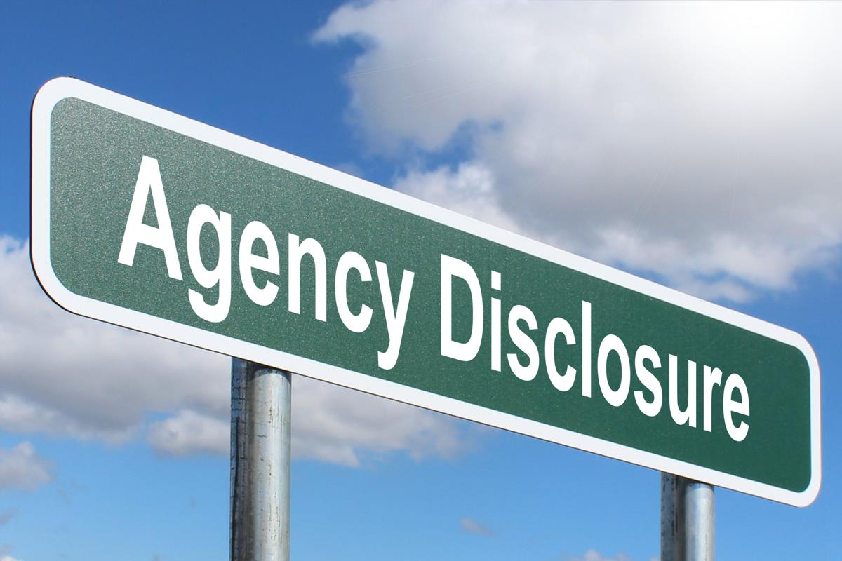 Agency Disclosure