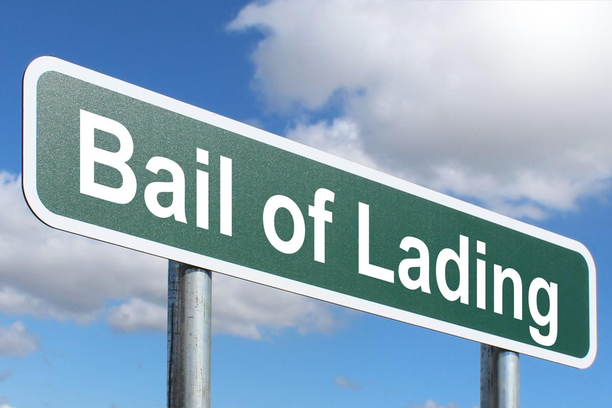 Bail of Lading