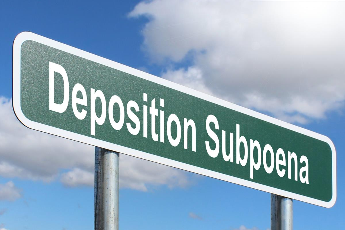 Deposition Subpoena