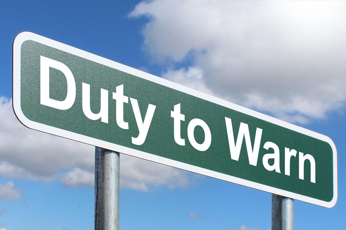 Duty to Warn
