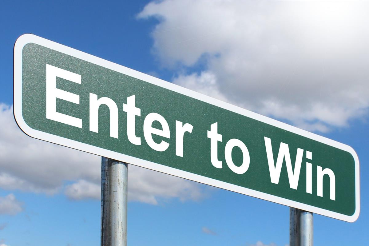 Enter to Win - Highway sign image