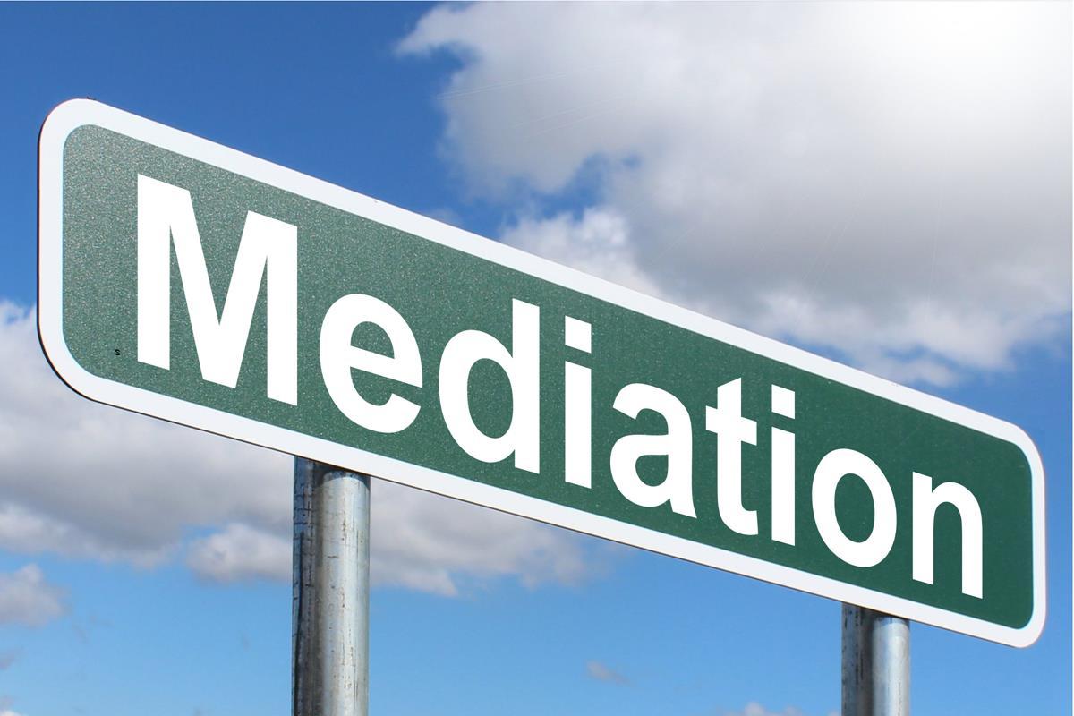 Meditation - Highway sign image