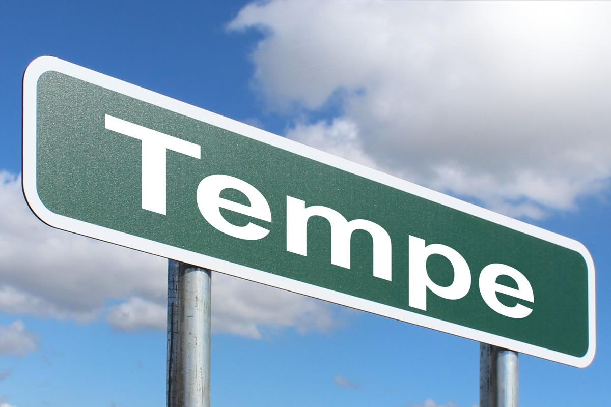 Tempe Highway Sign Image