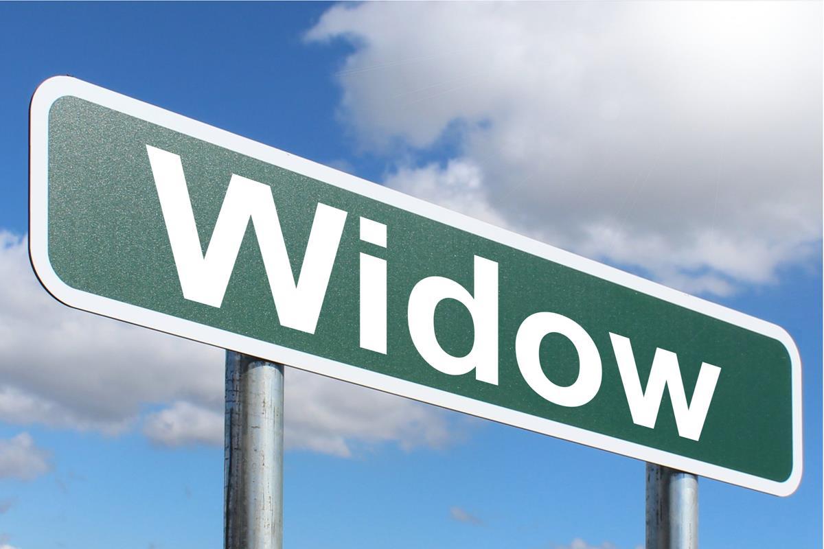 Widow