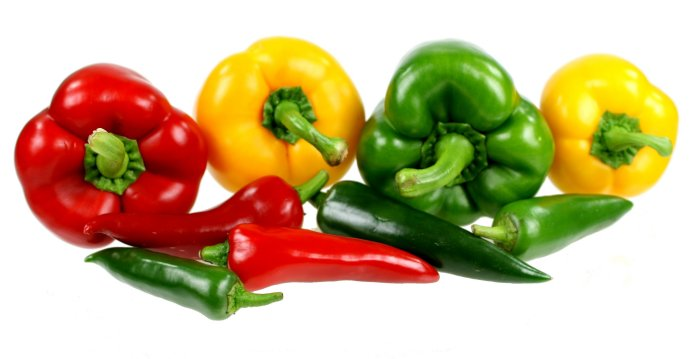 Peppers and Chillies