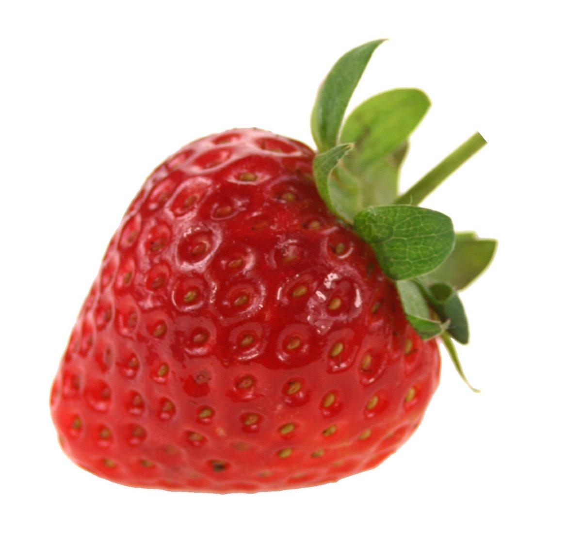 Strawberries In A Cake Shape