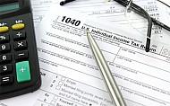 US 1040 individual income tax return