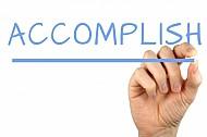 Accomplish