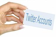 Twitter accounts