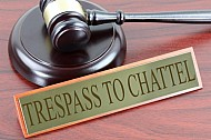 Trespass to chattel