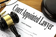 Court appointed lawyer