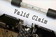 Valid claim